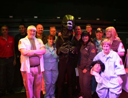 ALIEN ON STAGE – ENG